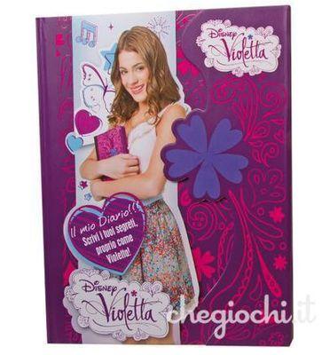 Il Diario dei Segreti di Violetta, protagonista dell'omonima serie televisiva Disney! Questo coloratissimo diario ha una pratica chiusura magnetica e tante pagine in cui scrivere tutto quello che ti viene in mente.