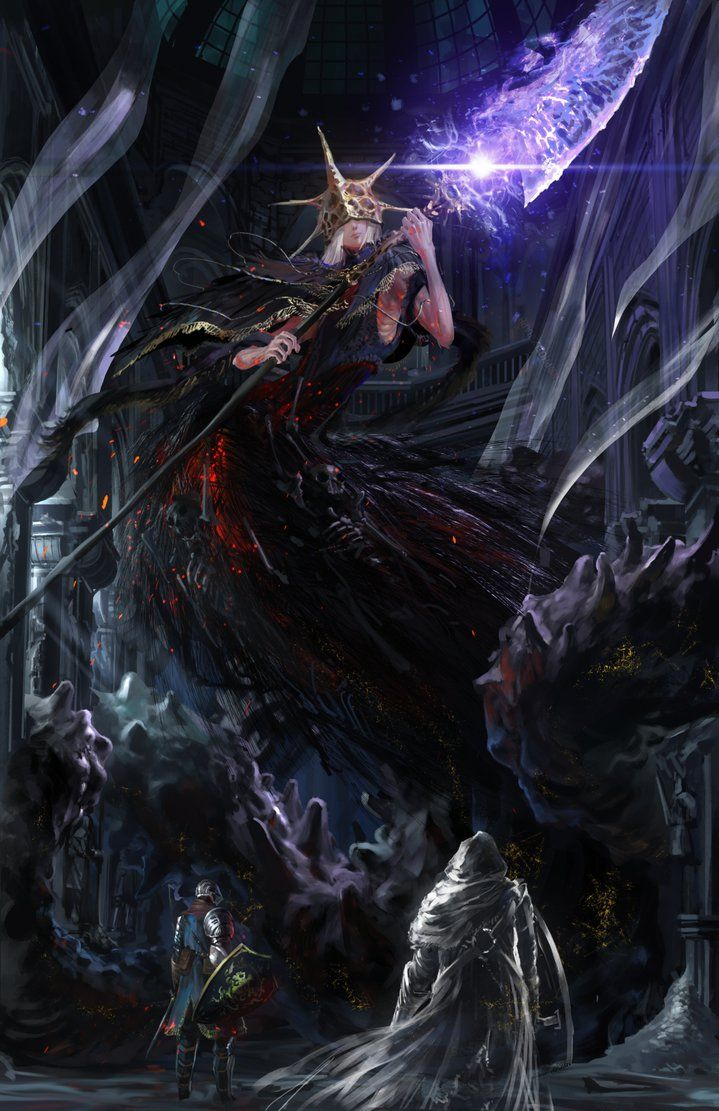 Dark souls 3 - Aldrich by Ishutani on DeviantArt