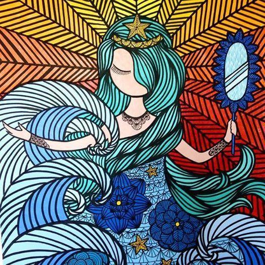 Cinco ilustrações homenageiam Iemanjá - Perto, distante