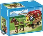 Playmobil Pony met Huifkar - 5228
