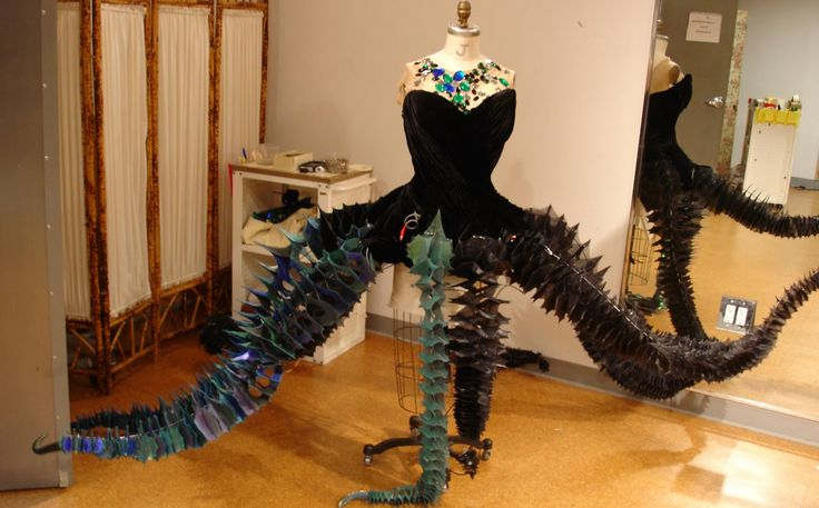 Various work-in-progress shots from the Little Mermaid on Broadway costumes (not too many, but still interesting..)