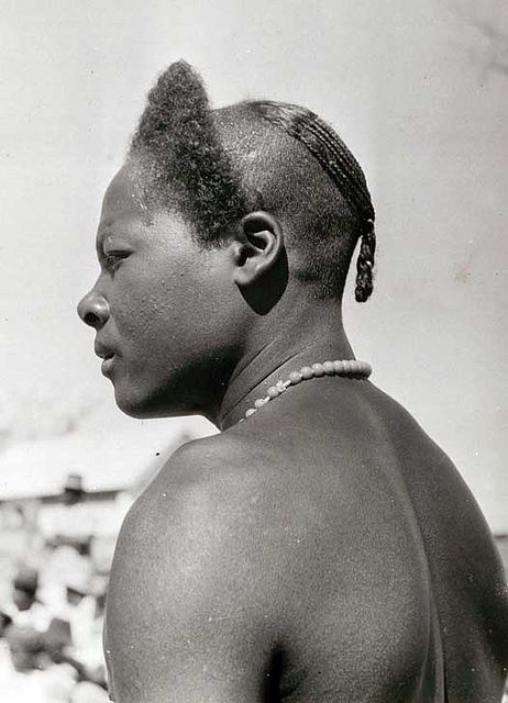 Man from the Antanosy tribe in Madagascar 1950.