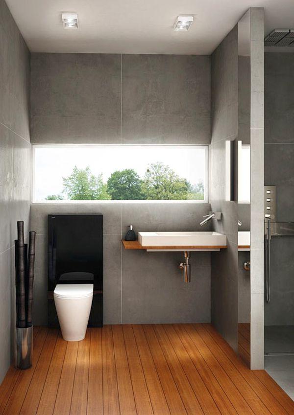 Neue Badideen Fur Kleines Bad Badezimmer Holzboden Neue