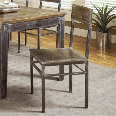 Modus Furniture 5m4766 Farmhouse Dining Chairs Set Of 2 This Chair By Comes In An Antique Waln Meeting House