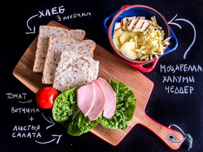 сендвич рецепт ланч дети