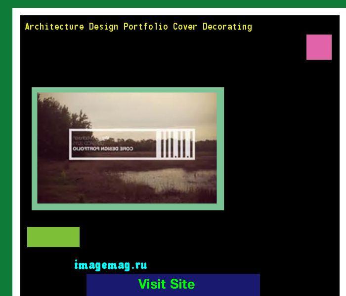 Architecture Design Portfolio Cover Decorating 203233 - The Best Image Search