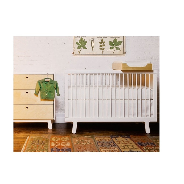 Buy Your Sparrow Convertible Crib In White By Oeuf Here. Stylish And  Versatile, The Sparrow Crib From Oeuf Is The Perfect Cornerstone For The  Sparrow ...