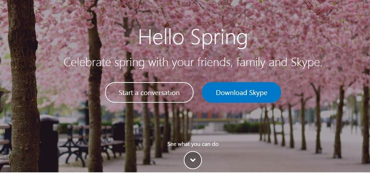 Skype - It allows you to make one-to-one calls as well as one-to-many. #Skype #app #entrepreneurs