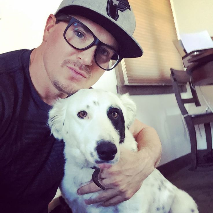 Ghost Adventures: Zak Bagans and Gracie.