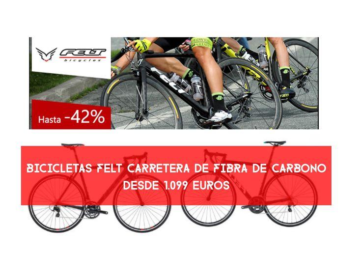 Ofertas bicicletas Felt carretera carbono desde 1.099 euros