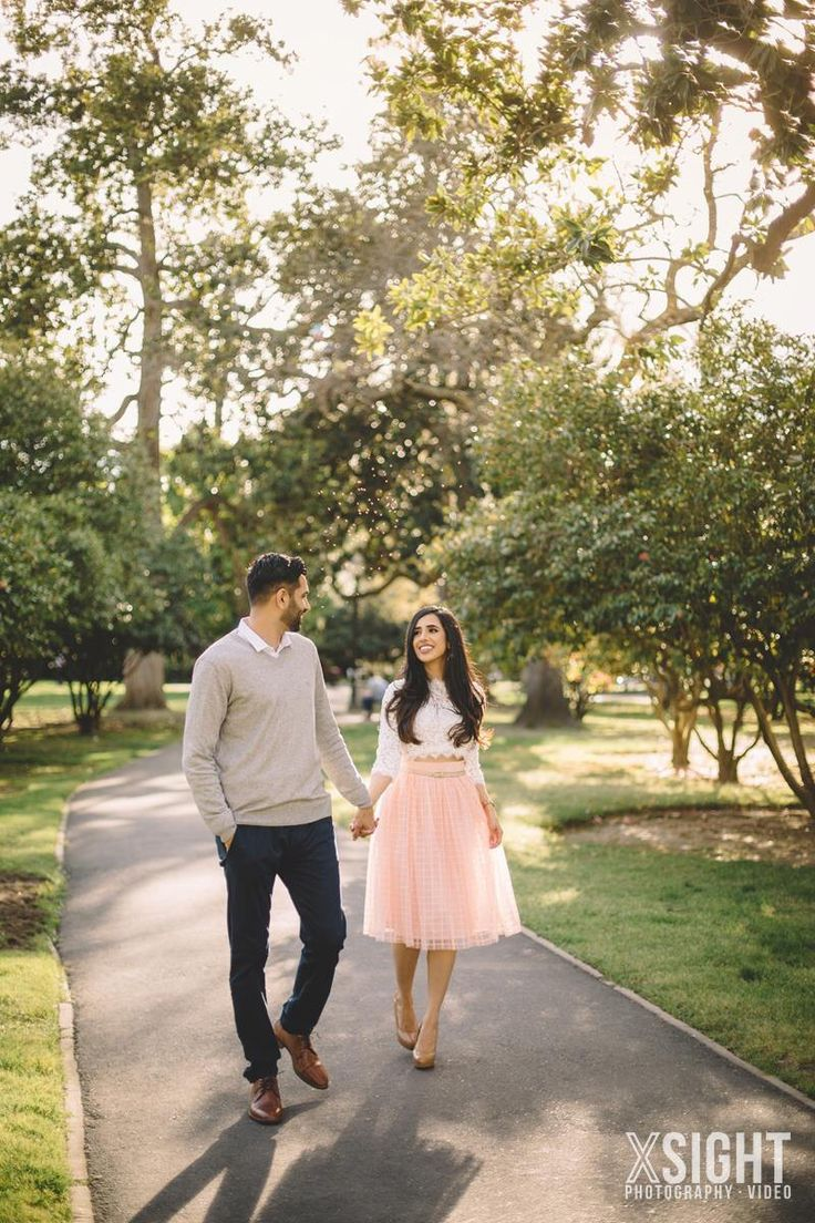 Indian Engagement Session in Downtown Sacramento | XSiGHT Photography | Capitol Park | Outdoors | Garden | City | Midtown | Old Town | California Photographer | Pink Dress | Wedding Ideas | Inspiration | Photo Shoot