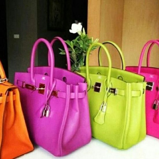Herms Bright Leather Birkin Bag Discover and share your fashion ideas on misspool.com