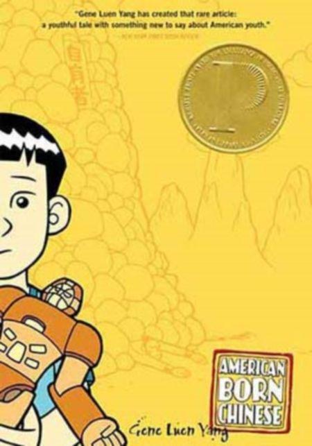American born Chinese. Autor: Gene Luen Yang. Sinopse:  É a historia dos primeiros anos dun fillo de inmigrantes chineses en Estados Unidos. Non só iso senón ó mesmo tempo é un reconto da coñecida lenda chinesa do Rei Mono e como foi que causou un desastre nos ceos. SIGNATURA: COMIC-IN-6