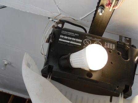 1000+ images about LED Lights for Garage on Pinterest   Garage ...:EcoSmart LED 9 Watt Light Bulb in Garage Door Opener,Lighting
