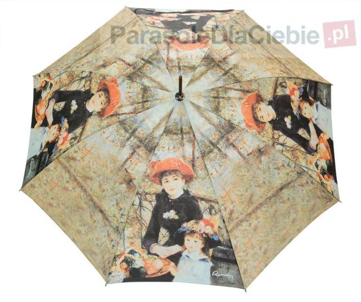 Parasol z Art Collection Dopplera - piękny nadruk obrazu Renoira