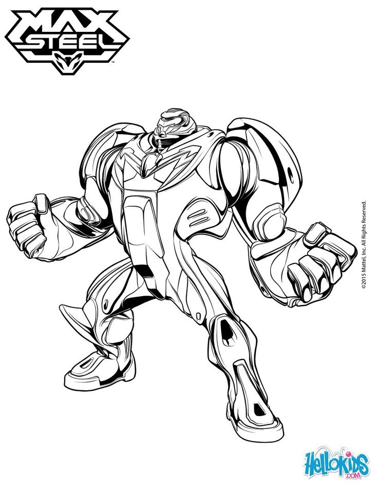 Max Steel has gone super size! More Max Steel content on