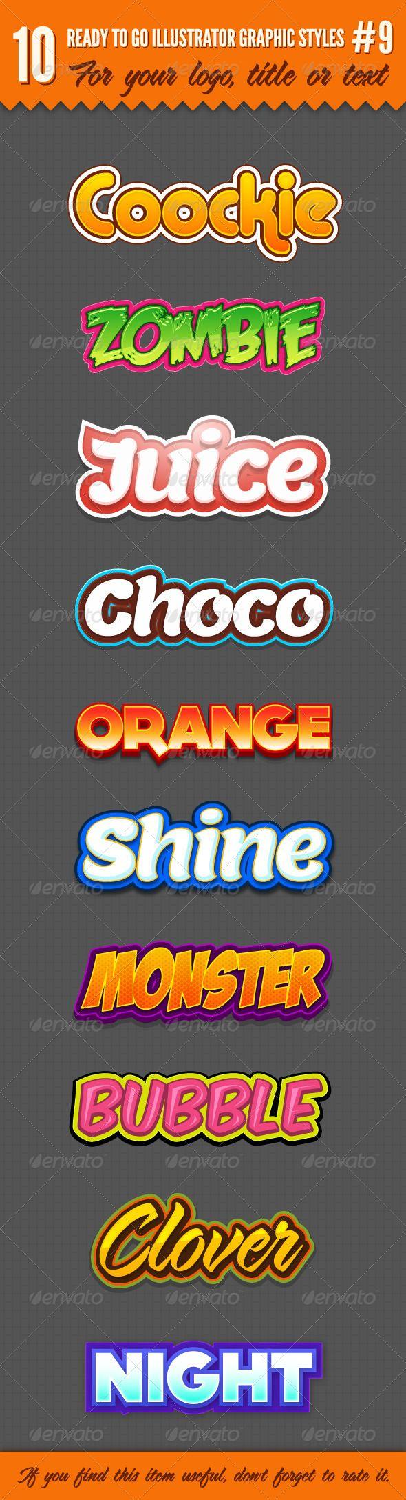 10 Logo Graphic Styles #9