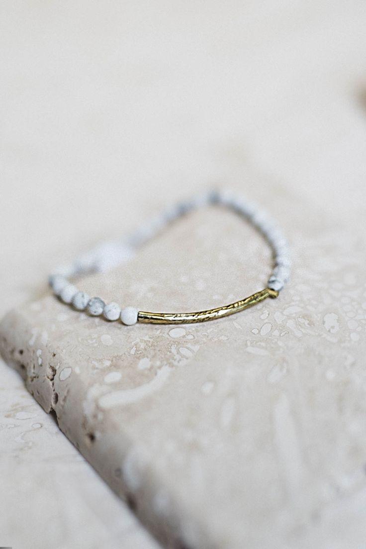 Howlite Power Bracelet
