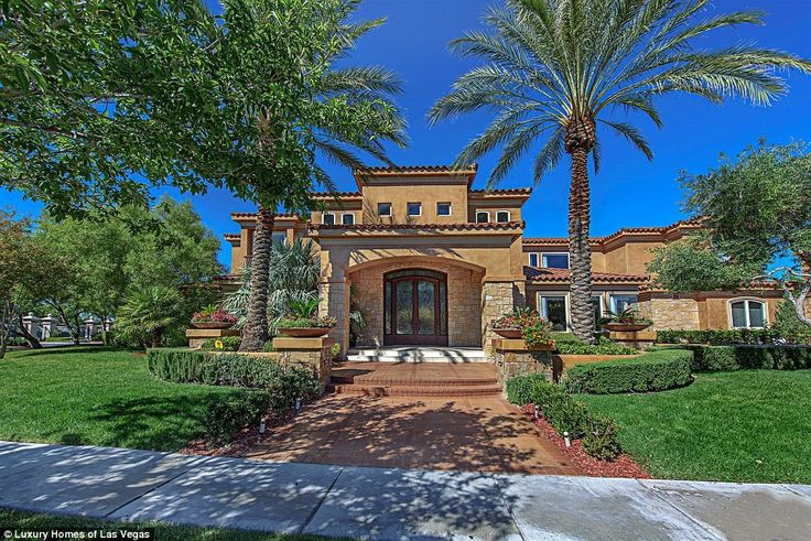 Mike Tyson and his wife purchased a home in Henderson, Nevada - just outside Las Vegas - for$2.5million. The purchase closed on December 28. Pictured above is the Tysons' new home