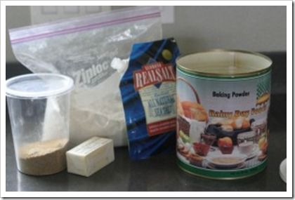 make your own cake mix... fast, healthy, and sans all the fake additive stuff. LOVE1