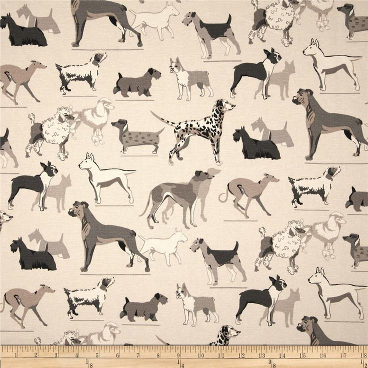 17 Best images about Dog theme fabric on Pinterest ...