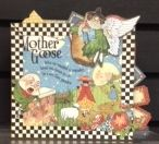 Chipboard book done in Graphic 45 8x8 Mother Goose paper pad