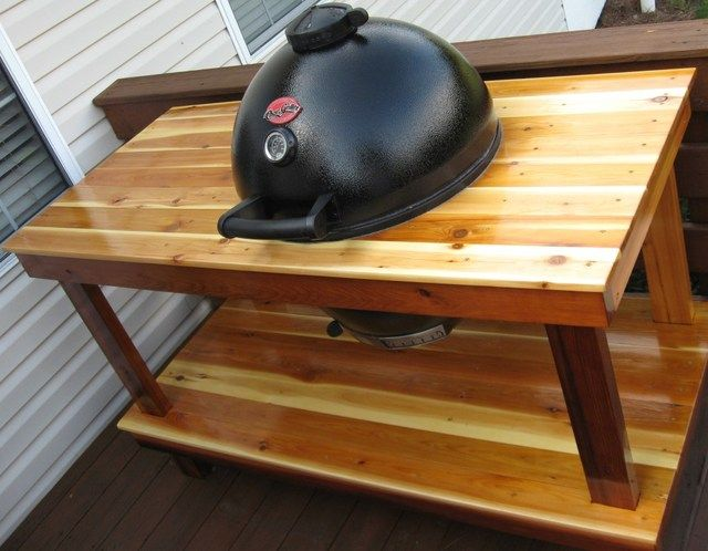 Ceramic Grill Table Plans Table Design Ideas