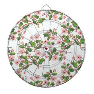 Sakura Blossom Ornament2 Dartboard
