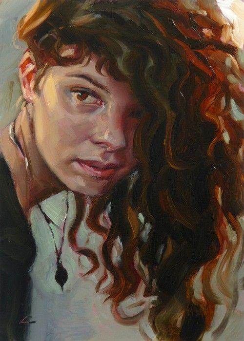 "one of my favorite pieces of art that I own - ""Flip"" original oil painting, artist John Larriva"