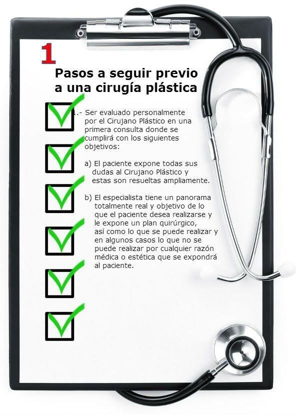 Pasos a seguir previo a hacerse una cirugía plástica - Clínica Quiroa, clínica de cirugía plástica en Guatemala