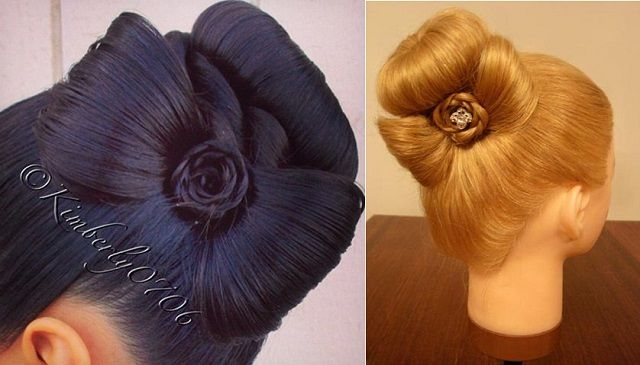 How to Use a Bow in Decoration to Make a Sophisticated Bun