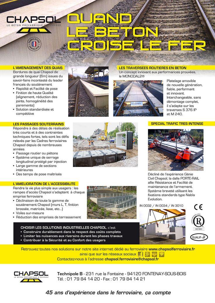 Chapsol ferroviaire. Le site Chapsol dédié.