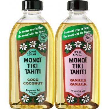 Lot de 2 huiles de monoi tiki vanille et tiki coco – Couleurtropiques