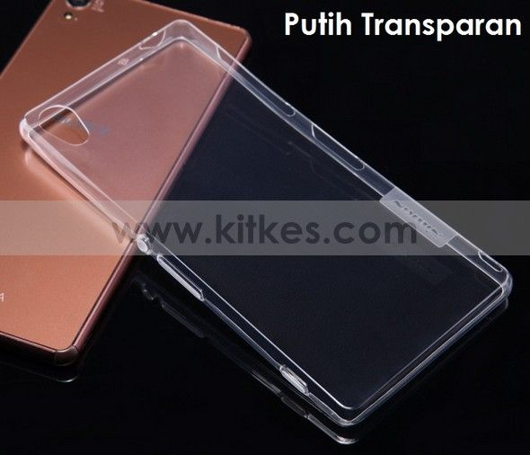 Nillkin Nature TPU 0.6mm Soft Case Sony Xperia Z3 - Rp 100.000 - kitkes.com