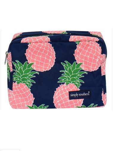 Simply Southern Cosmetic Bag - Pineapple