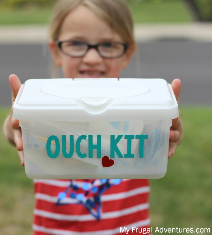 Keep these first aid kits on hand. When camping there's bound to be a need for basic first aid supplies.