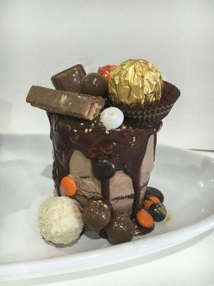 Triple chocolate heaven