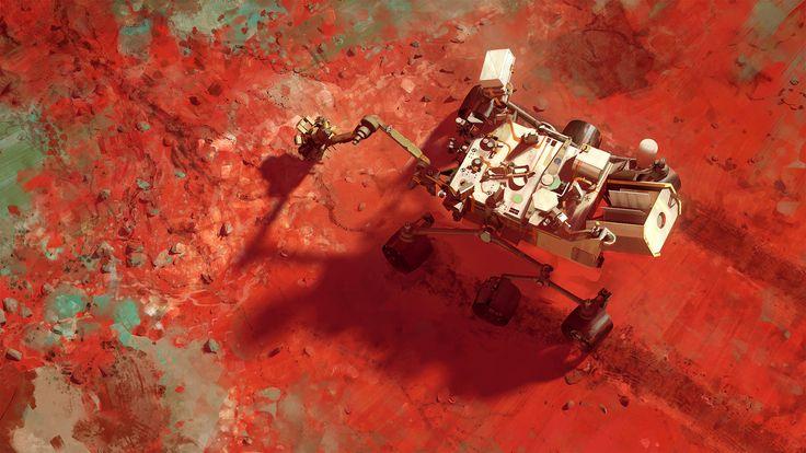 Mars Science Laboratory - Curiosity by MacRebisz.deviantart.com on @DeviantArt