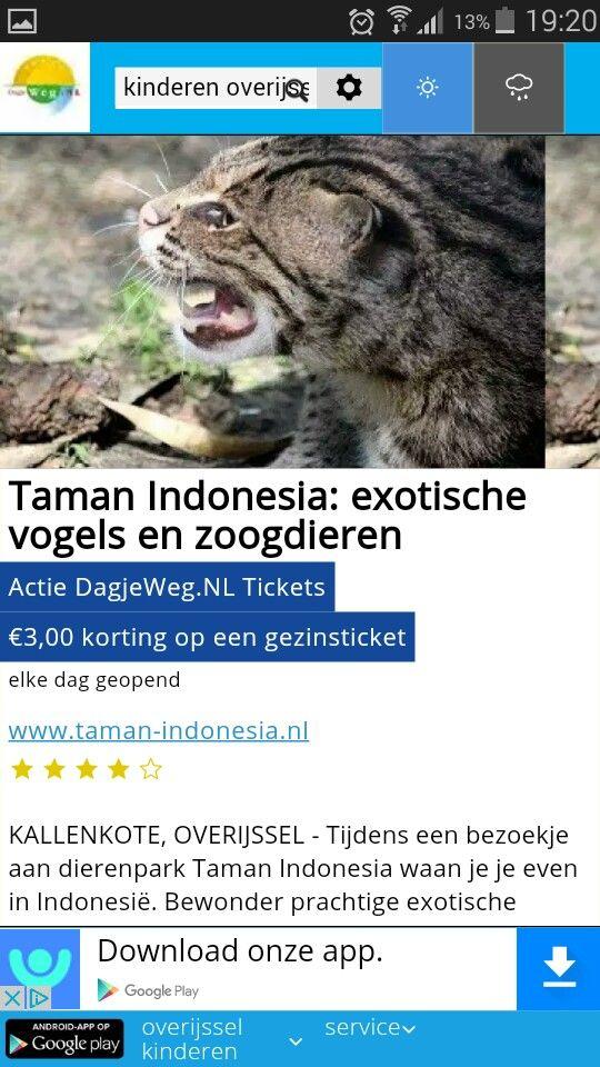 exotische dierentuin Kallenkote