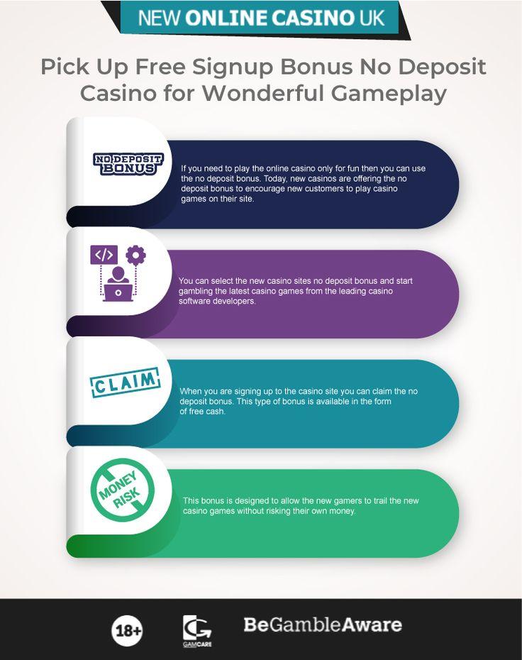 New Casino Sites No Deposit Uk