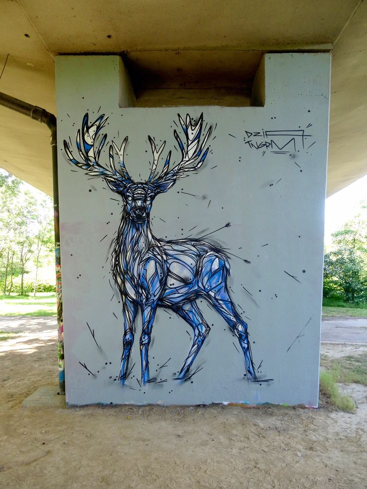 "DZIA paints ""Mean Mugging"", its newest piece in Anderlecht, Brussels"