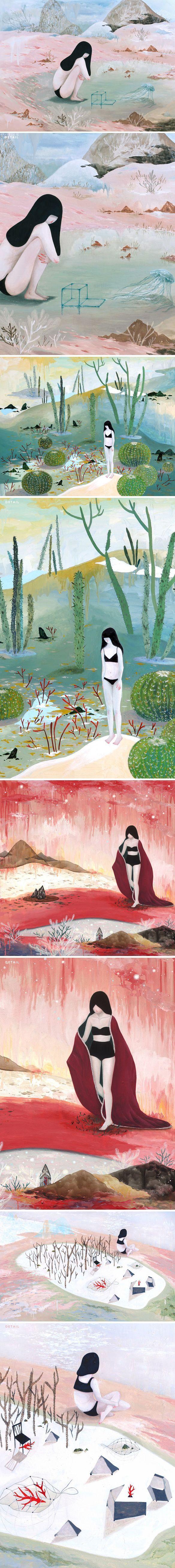 mandy cao (on The Jealous Curator blog)