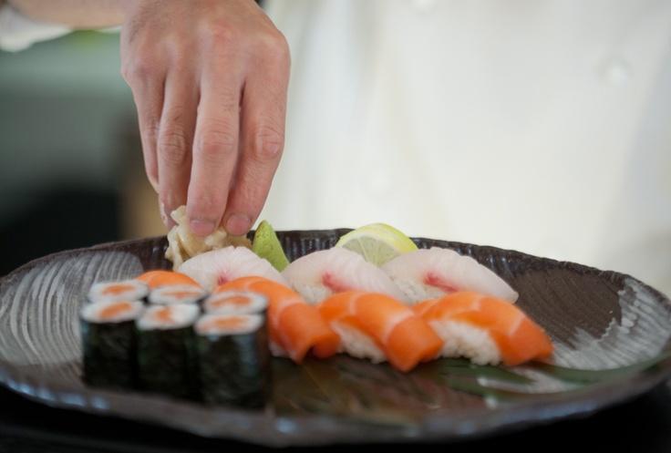 Sushi at Akachochin  #swpromenade #japanese #sushi