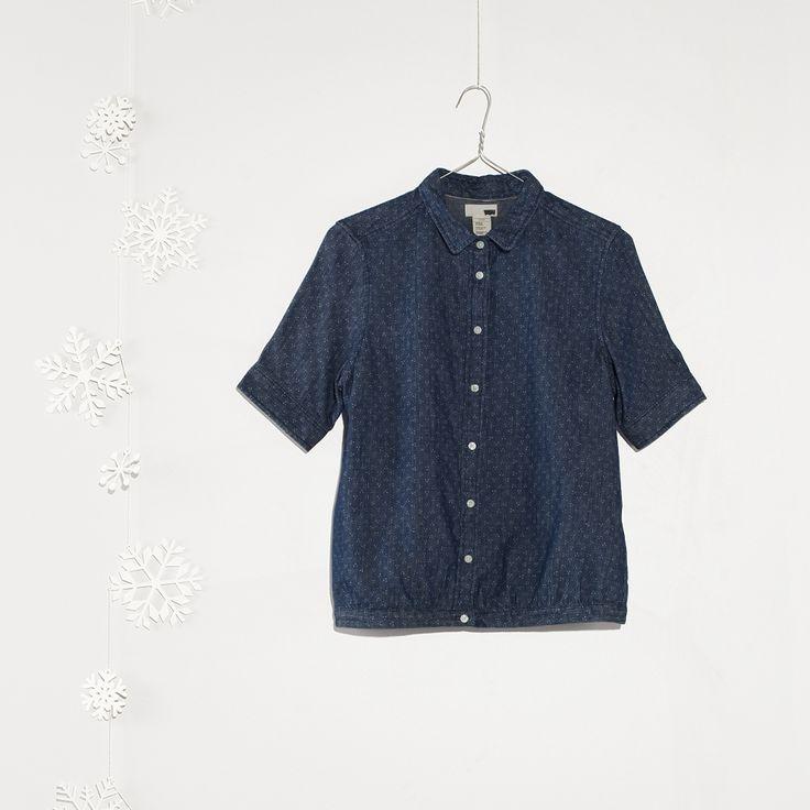 #jeanspl #fallwinter14 #fw14 #christmas #shirt #womencollection #women #leviscollection #levis #smiley #blouse #diamond #dot #cotton #loosefit