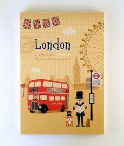 London UK Memo Pad  - available at www.stationeryheaven.nl