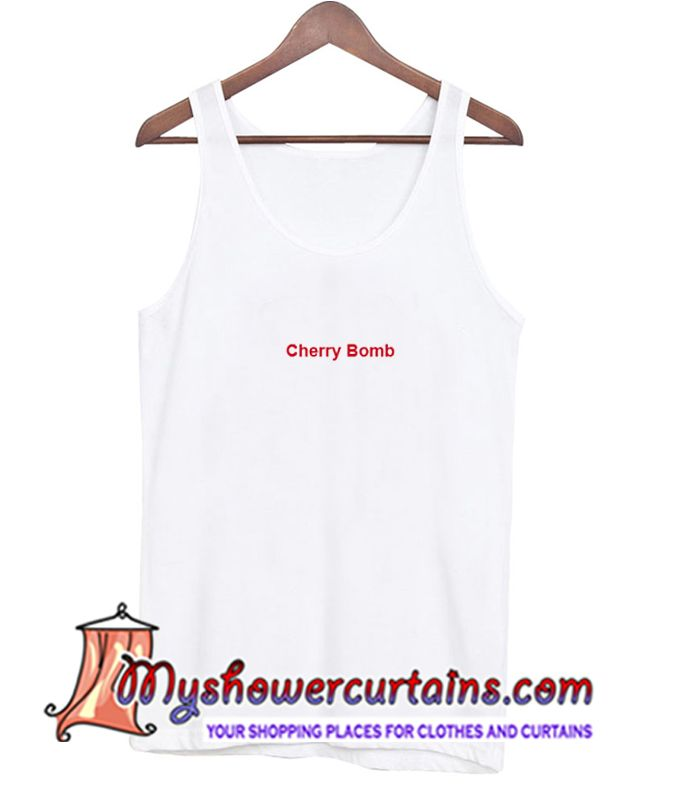 About Cherry Bomb Tanktop from myshowercurtains.com This Dream catcher tanktop is Made To Order, we print the one by one so we can control the quality.