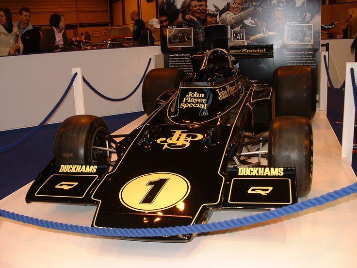 Vintage F1 cars