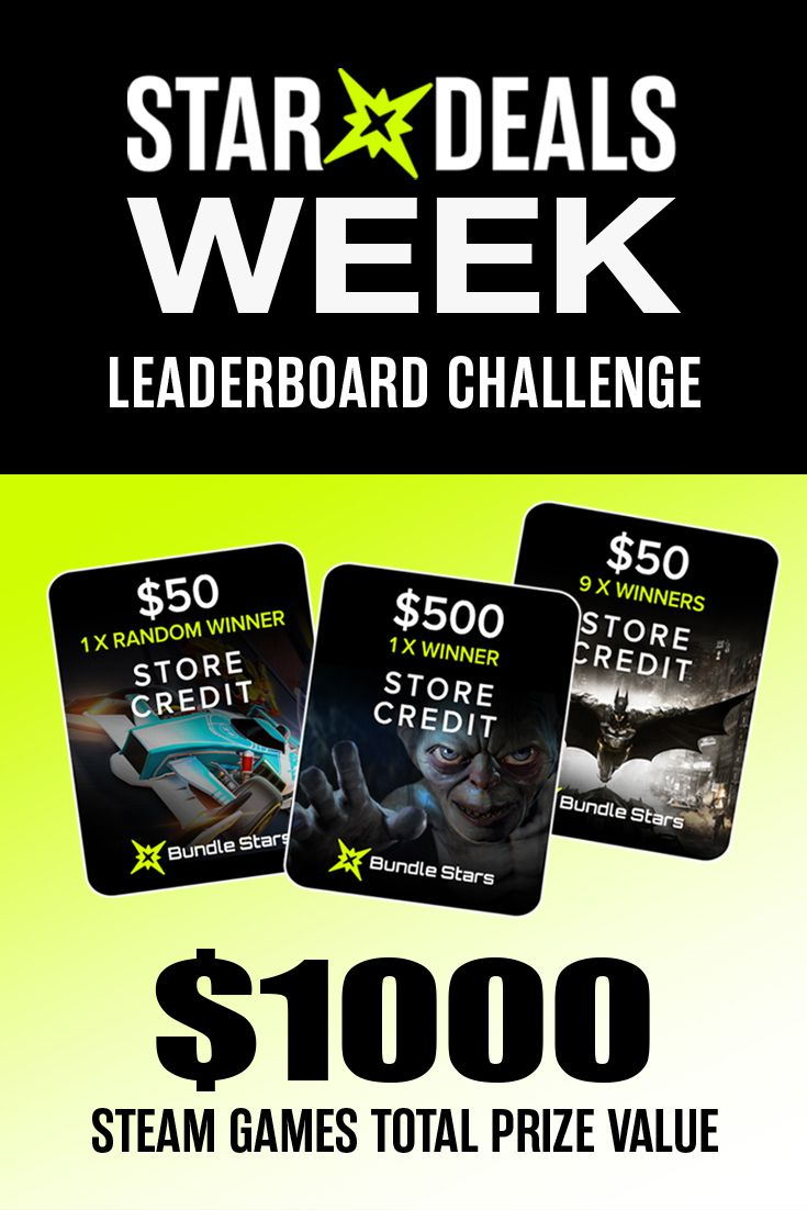 Steam games worth $1,000 to be won!