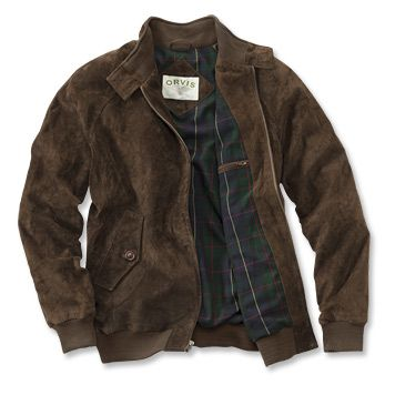 Suede Bomber Jackets / Suede Bomber Jacket -- Orvis | Suede bomber jacket men, Suede bomber jacket, Long bomber jacket