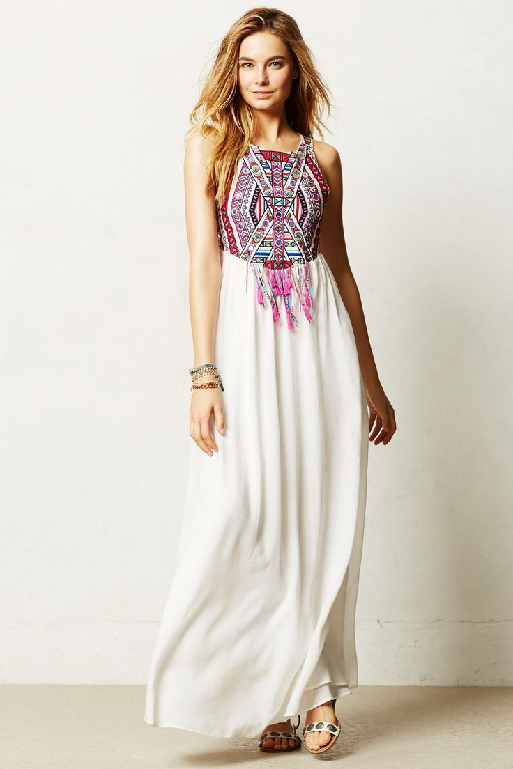 Vestido étnico!